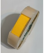 "Dymo 3/4"" Embossing Labeling Tape For Vintage 2300 Signmaker Yellow - $31.14"