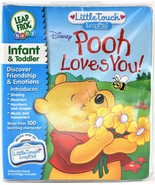 Leap Frog LeapPad Little Touch Disney Pooh Loves You Infant And Toddler New - $12.86