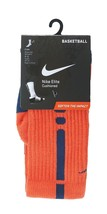 NIKE Elite Cushioned Basketball Crew Socks sz S Small (4-6) Turf Orange - $24.99