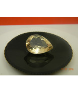 10.0ct Superb Pear cut Natural yellow Labradorite  - $34.99