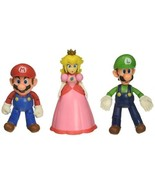 World of Nintendo 64511 New 2018 Mushroom Kingdom Diorama Gift Set-3 Fig... - $47.02