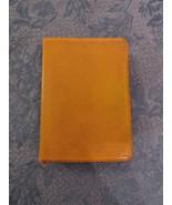 Zondervan NIV Bible 1978 Genuine Cowhide New International Version Yellow - $24.76