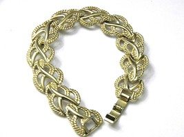 Gold Tone Vintage Lovely Bracelet - $14.99