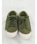 Mozo Shoe Crews Green Canvas Work Shoes Women's Size 6 M33758 - $29.95