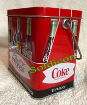 Coke Coca Cola Collection Aluminum Tin Tank Cans Music Box + Quartz desk Clock image 5