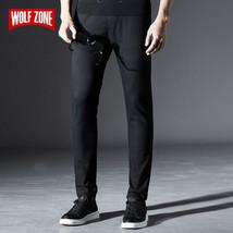 Fashion New Autumn Winter Cotton Pants Men Slim Fit Mens Sweatpants Brand - $50.44