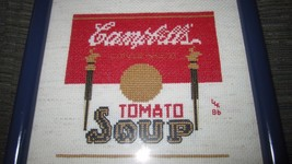 Vintage Campbell's Condensed Tomato Soup Label ... - $12.19