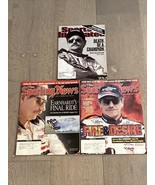 Dale Earnhardt 2001 Cover Lot Sporting News 2/26/01 2/12 Sports Illustrated - $15.00