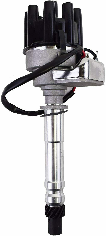 Chevy GM SBC BBC R2R Complete Distributor 283 305 307 327 350 400 396 427 Black