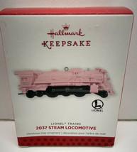 "2013 Hallmark Ornament 2037 Lionel Steam Locomotive ""Pink frosting"" LE - $19.75"