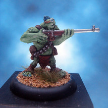 Painted Privateer Press Miniature Hordes Trollbloods Pyg Bushwhacker III - $37.25