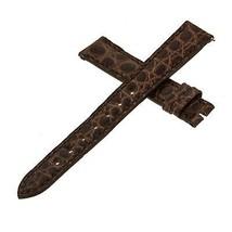 Franck Muller 14 - 12 mm Genuine Brown Alligator Leather  Watch Band - $249.00