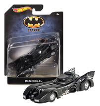 Hot Wheels 1989 Batman Movie Batmobile 1:50 Scale New in Package - $11.88