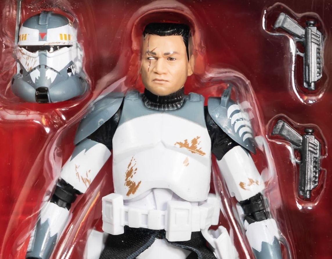 Star Wars Black Series Clone Commander Wolffe exclusive figure Clone Wars