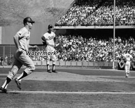 MLB 1963 World Series Mickey Mantle Homering Off Sandy Koufax 8 X 10 Pho... - $5.63