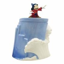 Disney Fantasia 80th Anniversary Mickey Mouse Figure Ceramic Cookie Jar UNUSED - $67.72