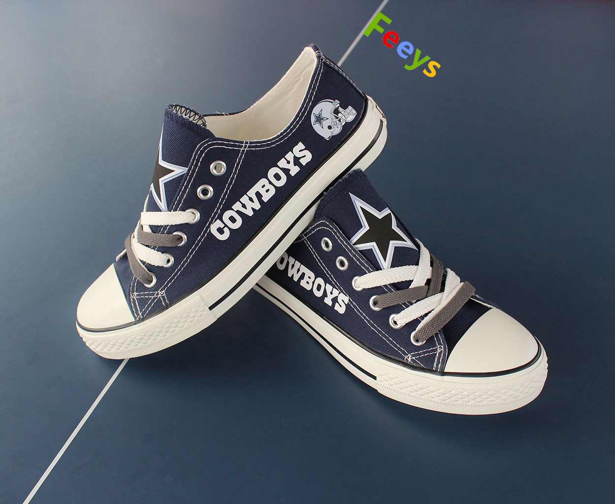 a982111b7158 cowboys shoes womens converse style sneakers dallas fans fashion football  shoes