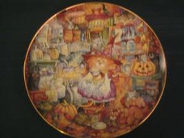 SCAREDY CATS Cat Collector Plate BILL BELL Halloween FRANKLIN MINT - $11.65