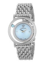 Versace VDA030014 Stainless Steel Blue Dial Ladies Watch - $2,566.46