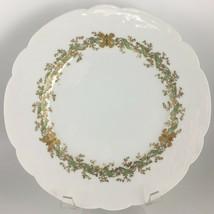 Haviland Limoges Dinner plate Gold / Green - $20.00
