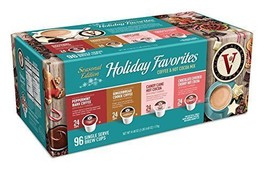 Victor Allen Coffee Holiday Favorites Coffee & Hot Cocoa Mix Single Serv... - $53.65