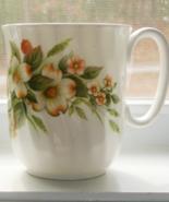 Vintage Duchess Mug, Dogwood Pattern 397, White - $25.00