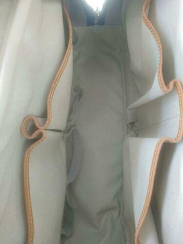 Auth Louis Vuitton Monogram Shoulder Bag Brown Leather PVC Logo Medium LVB0212
