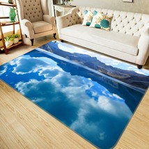3D Cloud Hill 2 Non Slip Rug Mat Room Mat Quality Elegant Photo Carpet U... - $106.68+