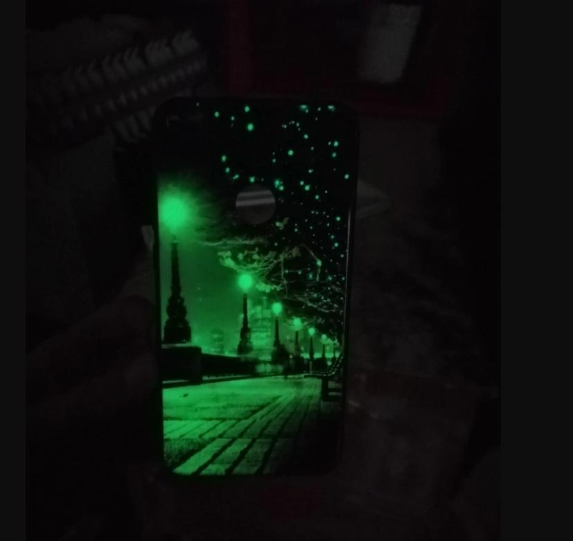 Luminous Phone Cases Cover For Huawei Honor 8 Pro 9 9i 10 lite Night Shine