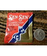 Old VINTAGE candy SEN SEN mints licorice breath freshener mint 1 one PAC... - $44.54