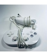 Nintendo Wii Classic Controller OEM RVL-005 White And Nunchuck  - $19.79