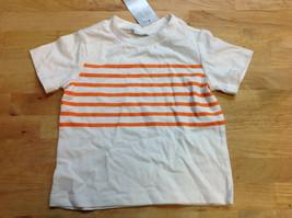 First Impressions Baby Boys' T-Shirt, White/Orange, Size 12M - $8.90