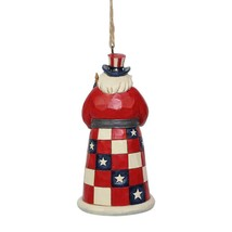 Jim Shore American Santa Hanging Ornament Around the World Collection 6001508 image 2