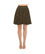 2020 Roman Numeral Luxury Pattern Fashion Skater Skirt - $41.50+