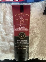 BATH & BODY WORKS LOVE JASMINE + SANDALWOOD MOISTURIZING BODY WASH - $13.50