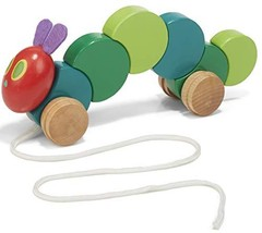 World of Eric Carle, The Very Hungry Caterpillar Wood Pull Toy - $19.43