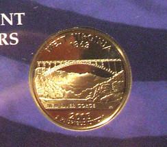 2005-S 25 Cent Proof State Quarter - West Virginia - George Washington - $5.95