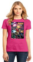 Black Panther She-Hulk Captain Marvel Ghost Rider Ladies Crew Tshirt Size XS-4XL - $19.99+