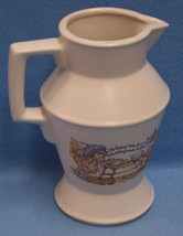 MCCOY VINTAGE HEAVY PITCHER OR VASE NO 24 336 SAYING - $13.85