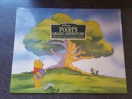 Walt Disney Winnie the Pooh Grand Adventure Set of 4 Lithos Portfolio Se... - $11.95