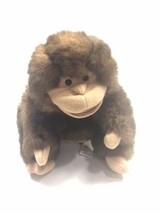 """Folkmanis Brown LONG-TAILED Monkey Stage Hand Puppet Pretend Play 10"""" Plush - $24.74"""