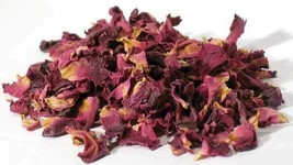 Rose Buds & Petals, Red 2oz (Rosa gallica) - $12.82