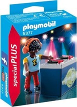 Playmobil 5377 - Special PLUS - DJ Z - New and Sealed - $4.05