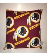 RedSkins Pillow NFL Pillow Washington Red Skins Pillow HANDMADE USA - $9.99