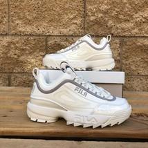 Fila Disruptor Ii X Shoe Palace Women's White Leather Casual Shoe 5XM01144-101 - $69.99