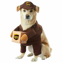 California Costumes UPS Delivery Driver Uniform Pal Pet Dog Costume Size... - $359,52 MXN