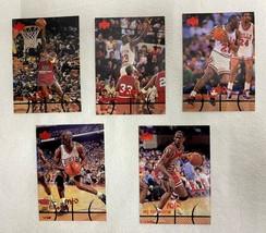 Lot of 5 Michael Jordan Upper Deck MJx Cards #7/14/15/16/24 1998 Lot #5 - $19.79