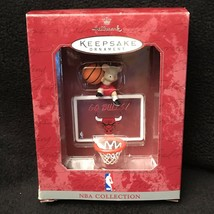 Hallmark NBA Chicago Bulls Keepsake Ornament Basketball Backboard Rim Ne... - $9.89