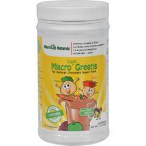MacroLife Naturals Jr. Macro Coco-Greens for Kids Chocolate - 3.3 oz - $10.99