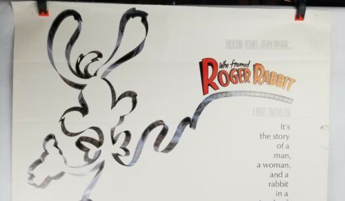Who Framed Rodger Rabbit Movie Poster Single Sided Original 27x40 Shipped Rolled image 2